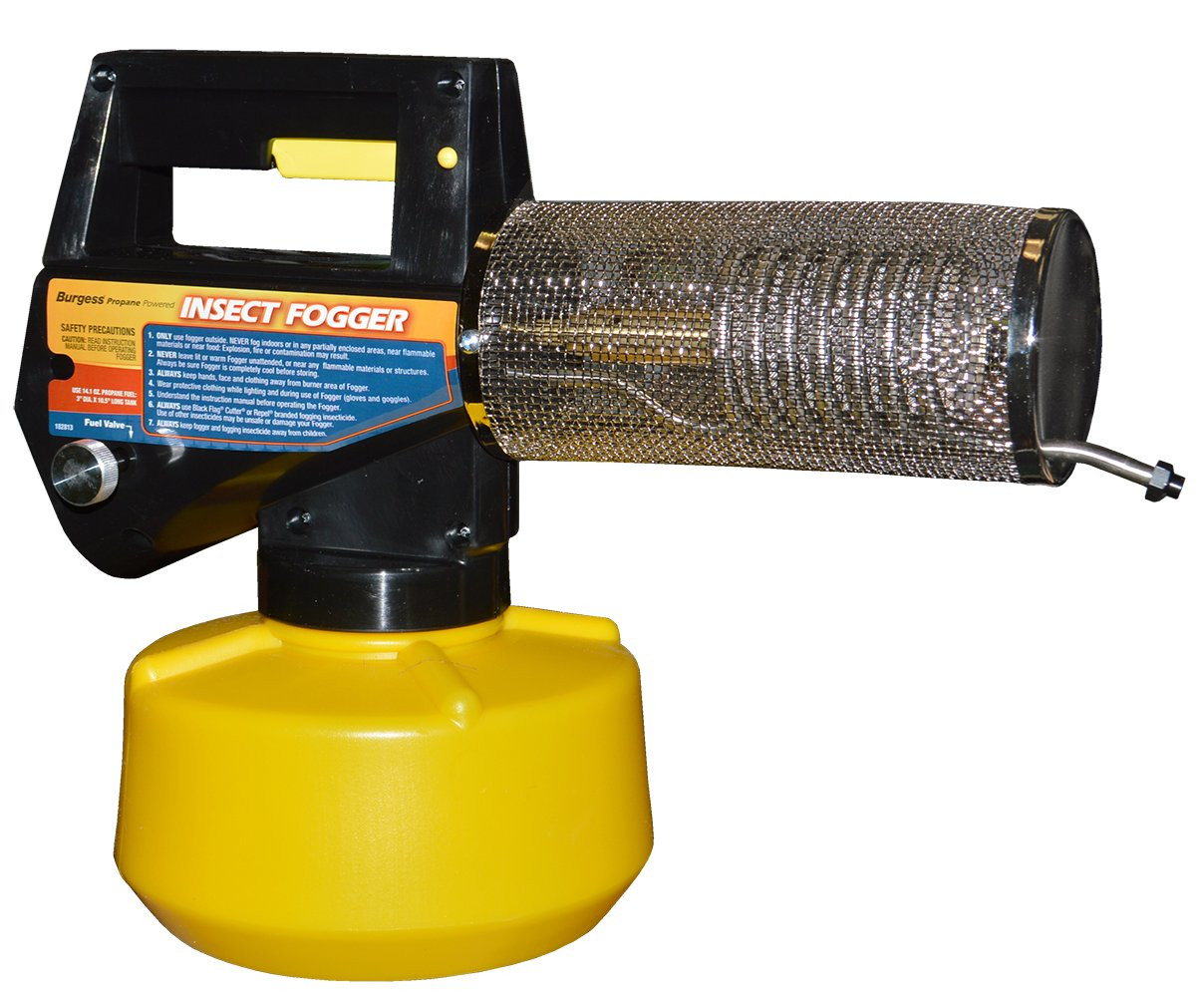 Backyard Mosquito Foggers  Burgess 1443 Propane Insect Fogger for Fast and Effective