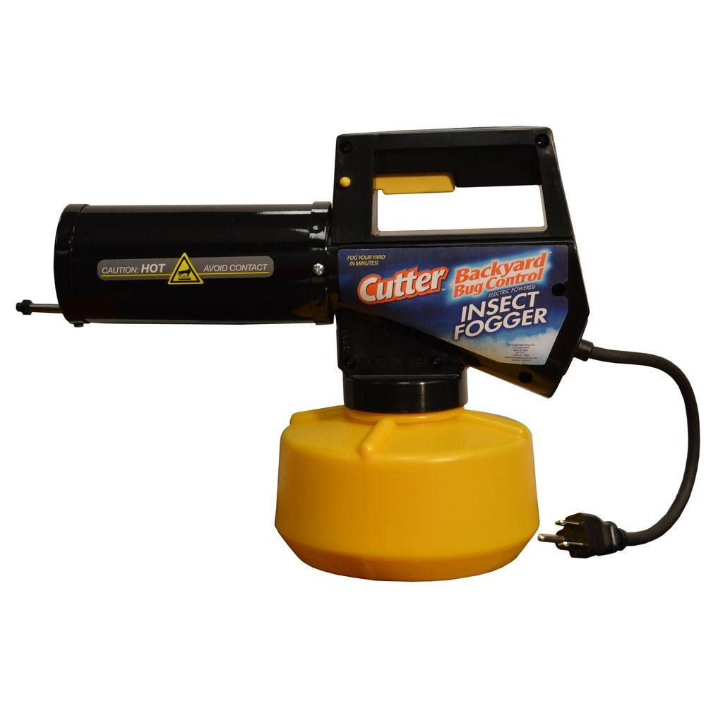 Backyard Mosquito Foggers  Cutter Electric Insect Fogger The Home Depot