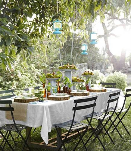 Backyard Table Ideas  12 Simple Tips for Summer Party Table Setting and Outdoor