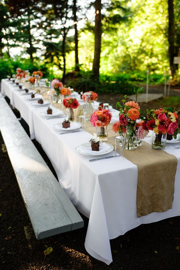 Backyard Table Ideas  Top 35 Summer Wedding Table Décor Ideas To Impress Your Guests