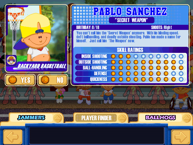Backyard Video Games  Backyard Basketball Windows CD ScummVM Game Download
