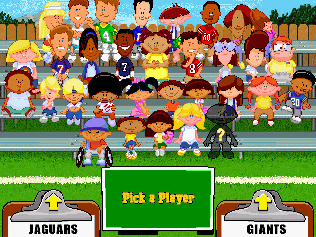 Backyard Video Games  Download Backyard Football Windows My Abandonware