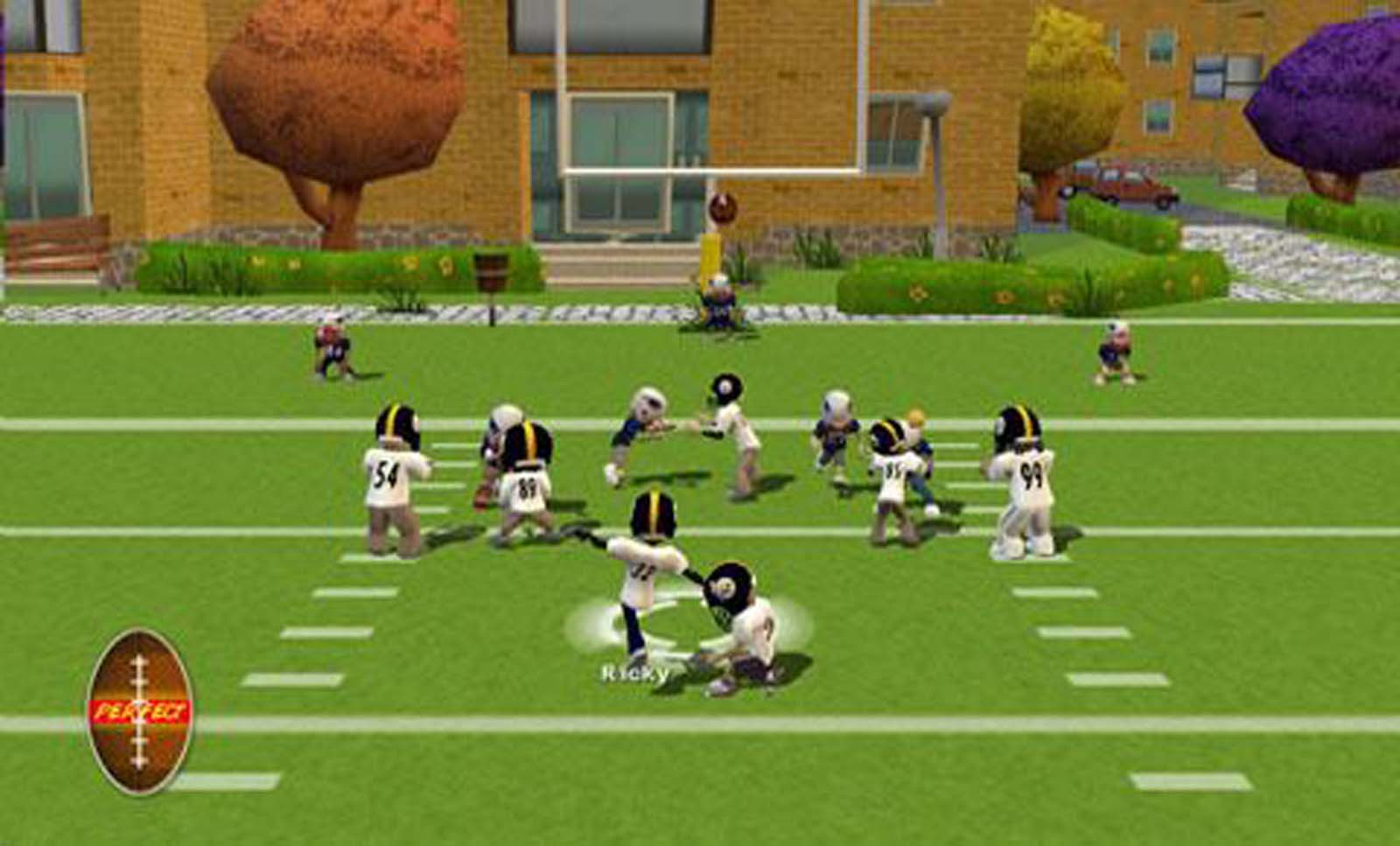Backyard Video Games  Backyard Football 08 USA ISO