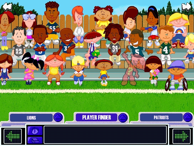 Backyard Video Games  Download Backyard Football 2002 Windows My Abandonware