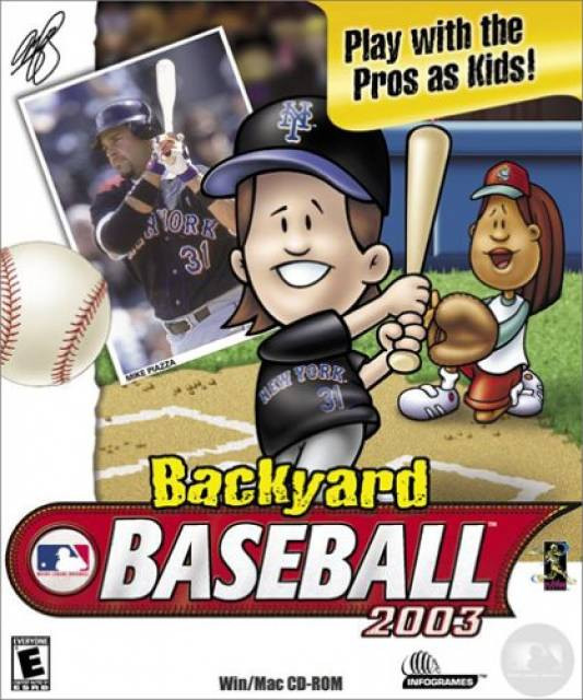 Backyard Video Games  Backyard Baseball 2003 Game Giant Bomb