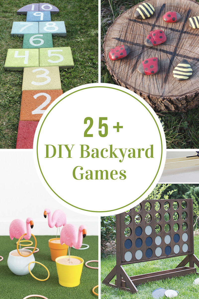 Backyard Video Games  DIY Backyard Games The Idea Room