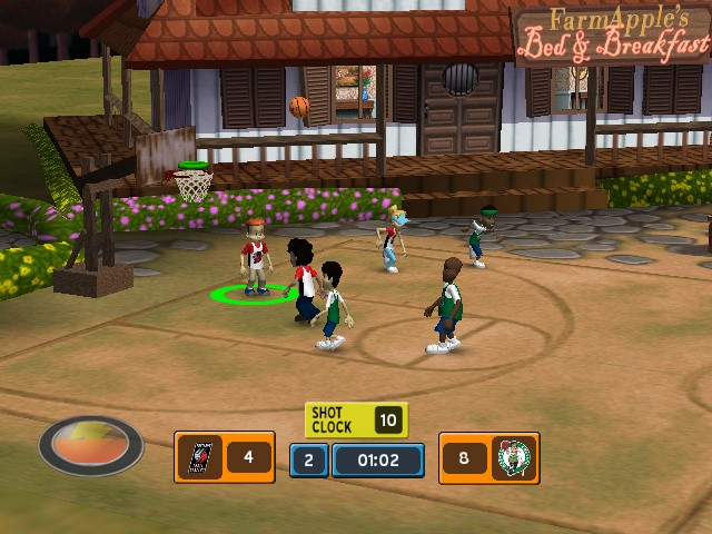Backyard Video Games  Backyard Basketball 2007 Sony Playstation 2 Game