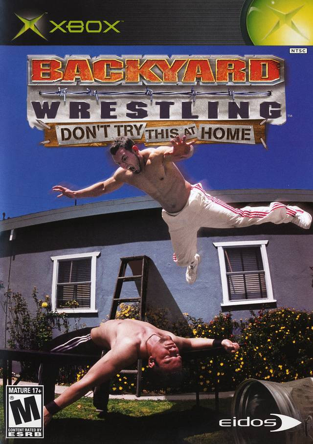 Backyard Video Games  Backyard Wrestling Xbox