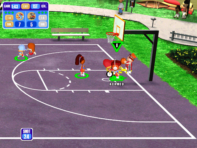 Backyard Video Games  Download Backyard Basketball Windows My Abandonware