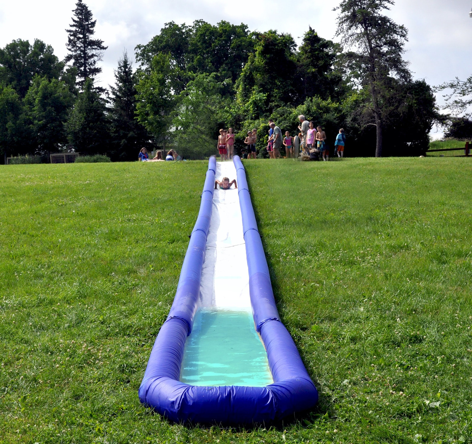 Backyard Water Slides For Sale  Rave Turbo Chute Water Slide Backyard Hill Package