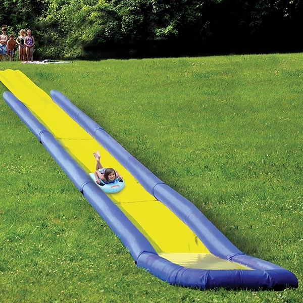 Backyard Water Slides For Sale  Inflatable World s Longest Backyard Water Slide For Sale