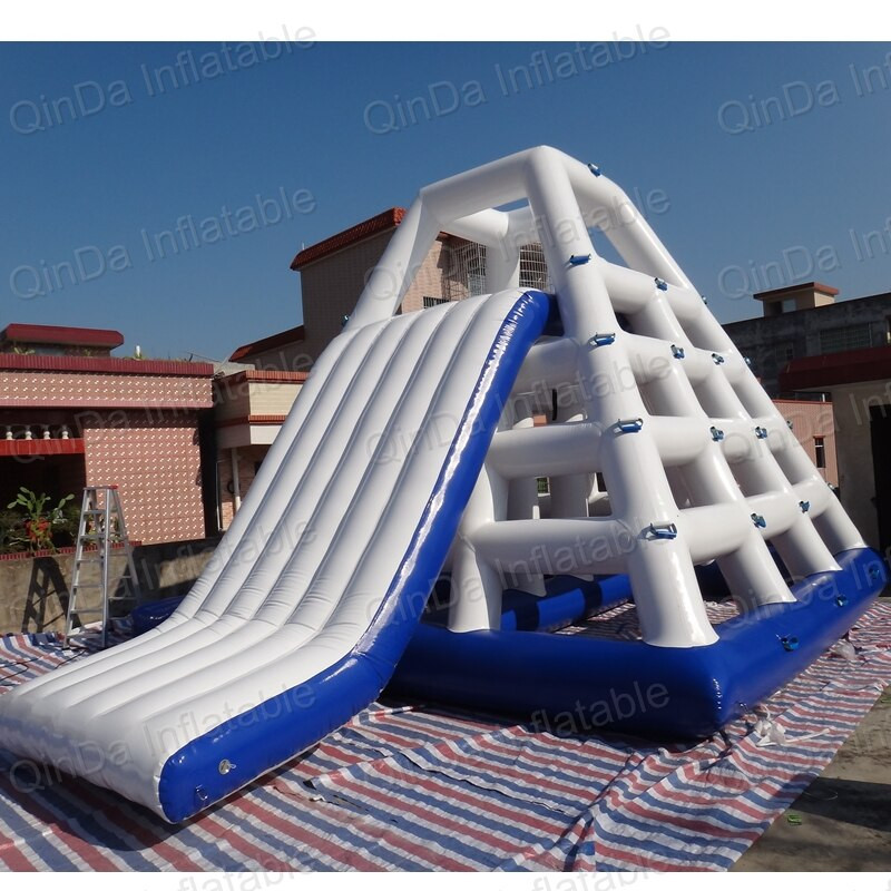 Backyard Water Slides For Sale  Giant inflatable floating water slide inflatable water