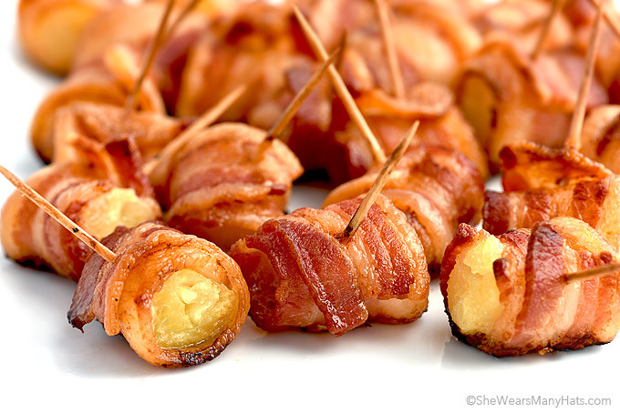 Bacon Wrapped Appetizers Recipe  Bacon Wrapped Pineapple Bites Recipe