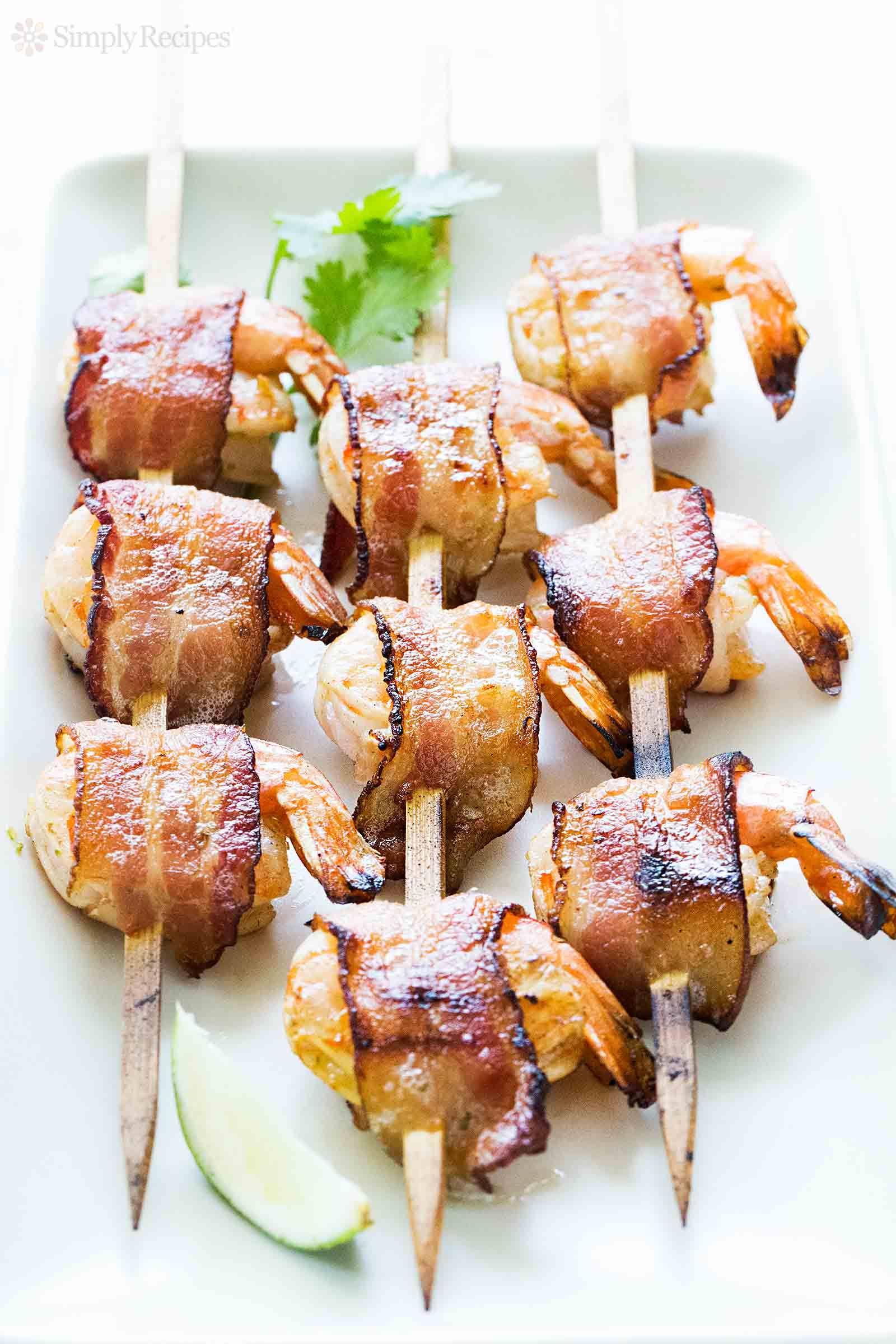 Bacon Wrapped Appetizers Recipe  Bacon Wrapped Shrimp Recipe