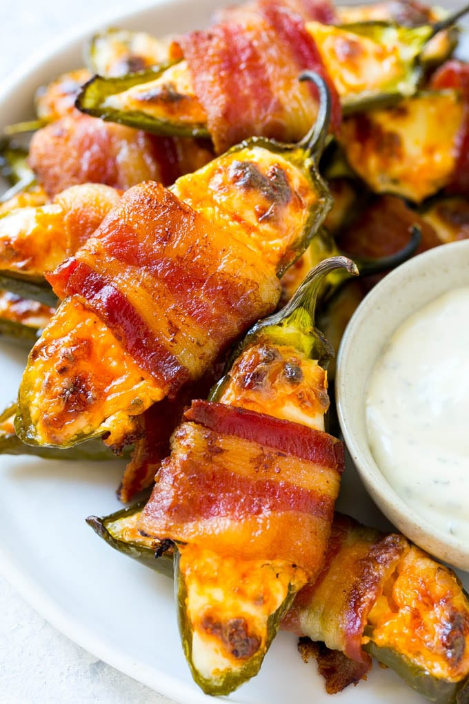 Bacon Wrapped Appetizers Recipe  Bacon Wrapped Jalapeno Poppers Dinner at the Zoo