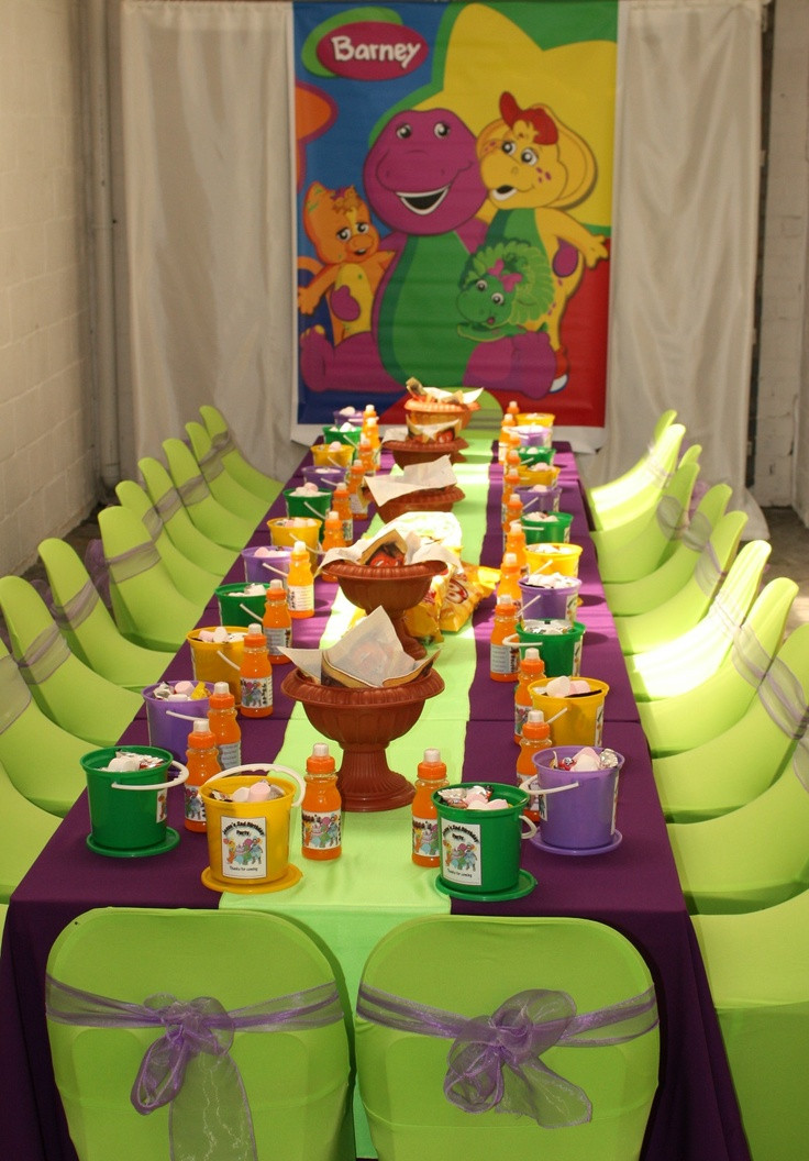 Barney Birthday Party Decorations  81 best images about Barney Birthday Party Ideas