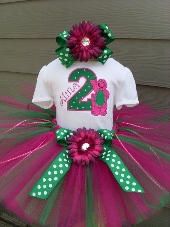 Barney Birthday Party Decorations  15 best images about BARNEY &2nd BIRTHDAY IDEAS on