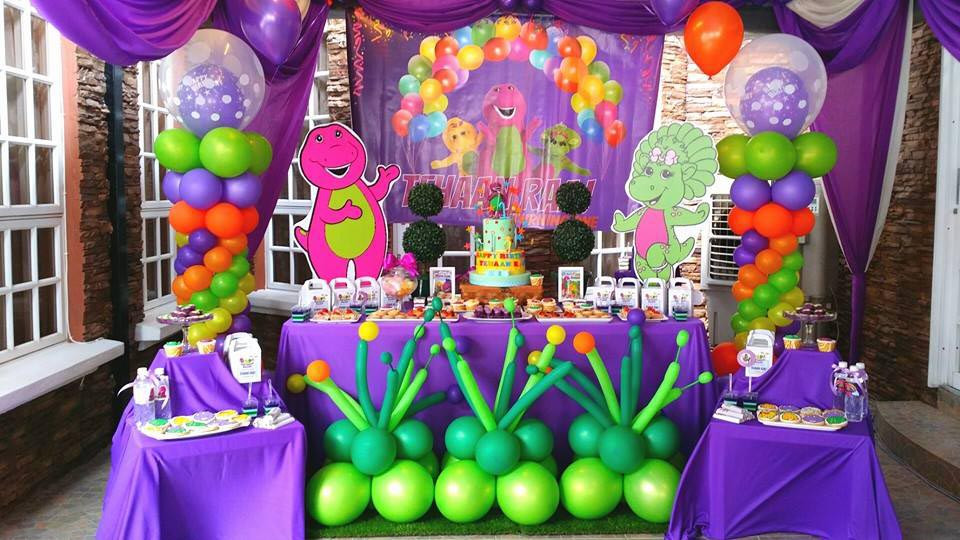 Barney Birthday Party Decorations  Barney Birthday Party for Babies