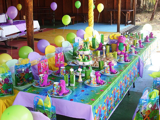 Barney Birthday Party Decorations  1000 images about Barney Themed Birthday on Pinterest