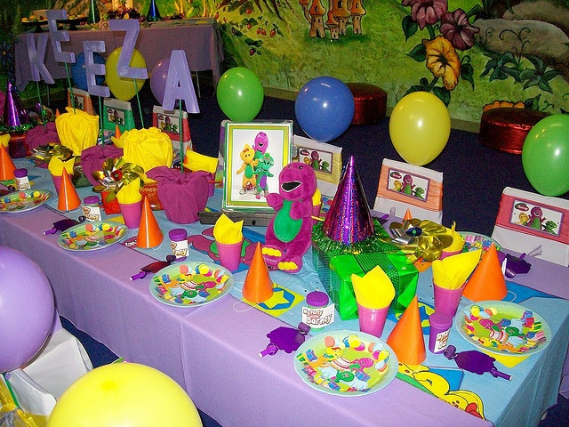 Barney Birthday Party Decorations  17 Best images about Barney Party on Pinterest