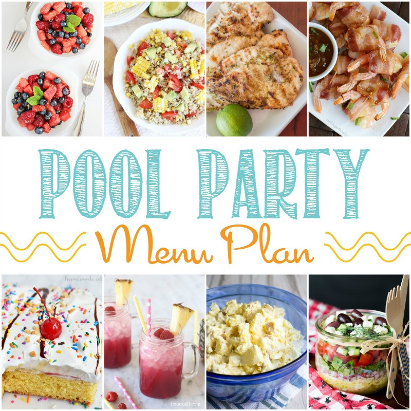 Beach Party Food Menu Ideas  Perfect Pool Party Menu Around My Family Table
