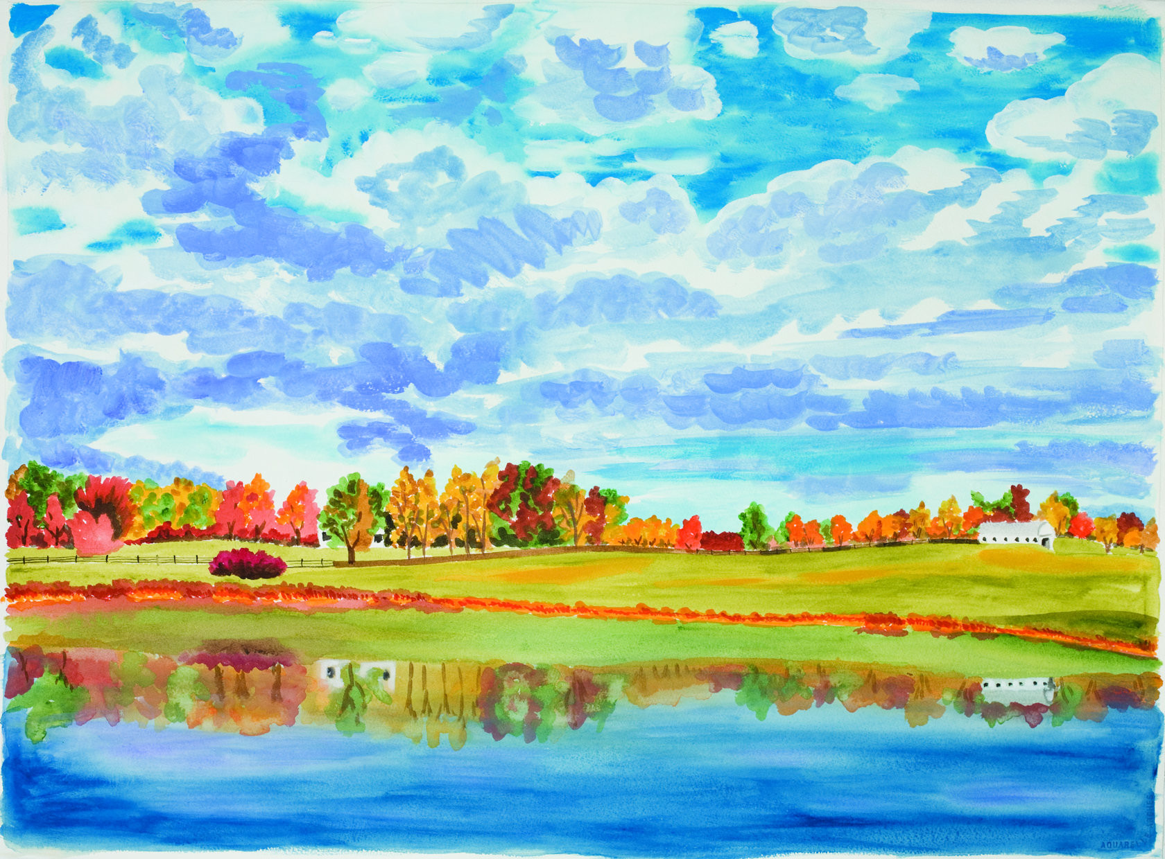 Beautiful Landscape Paintings  How To Paint A Beautiful Landscape Painting