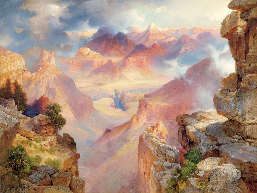 Beautiful Landscape Paintings  4 beautiful landscape paintings you can view now at the