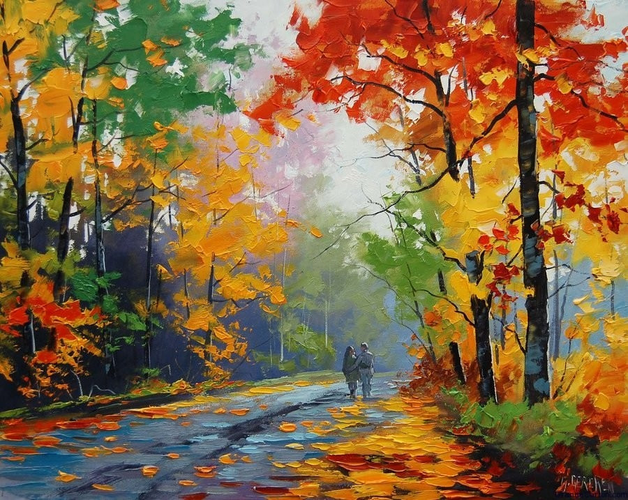 Beautiful Landscape Paintings  FREE 15 Landscape Paintings of Nature in PSD