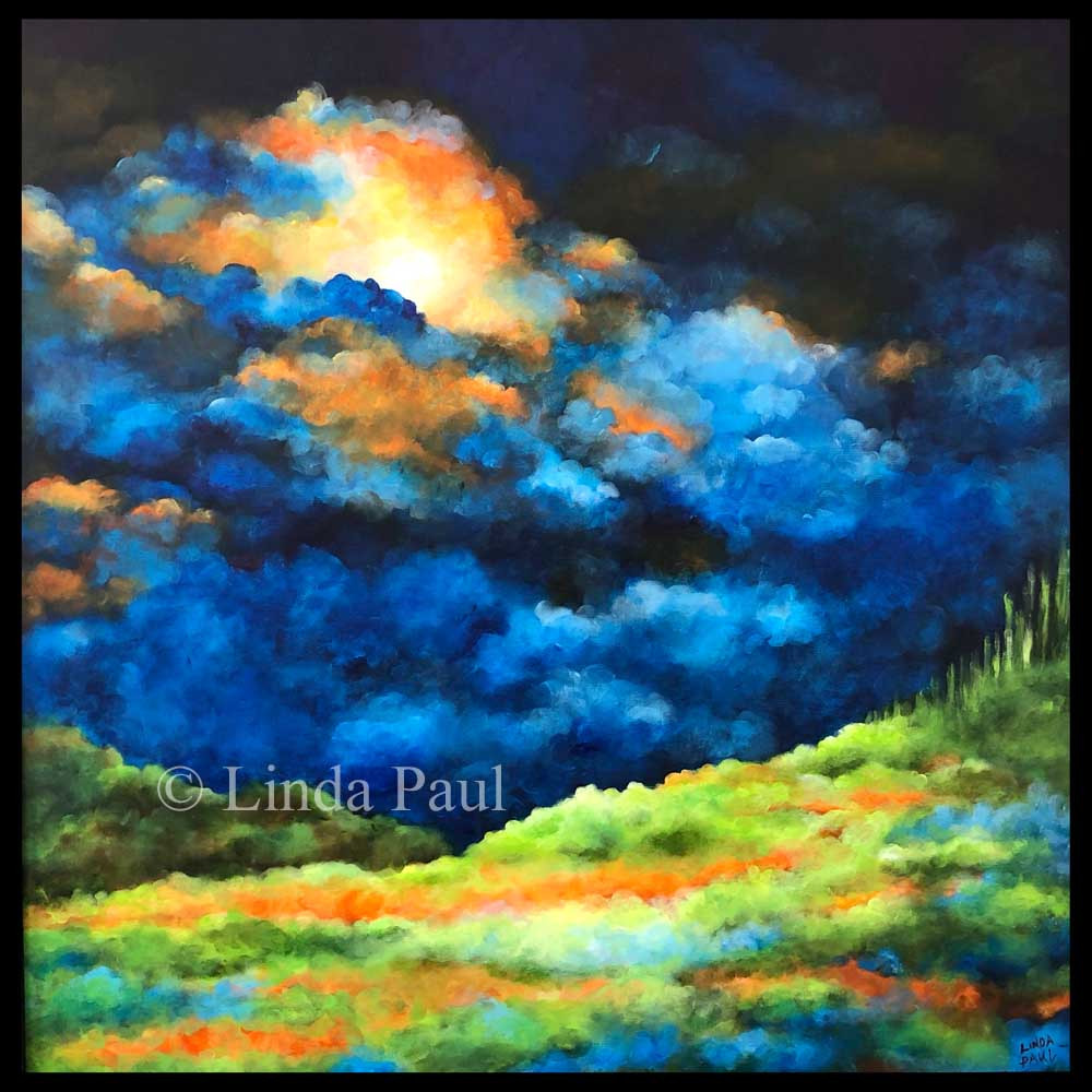 Beautiful Landscape Paintings  Inspirational Wall Art Framed Landscape Painting of