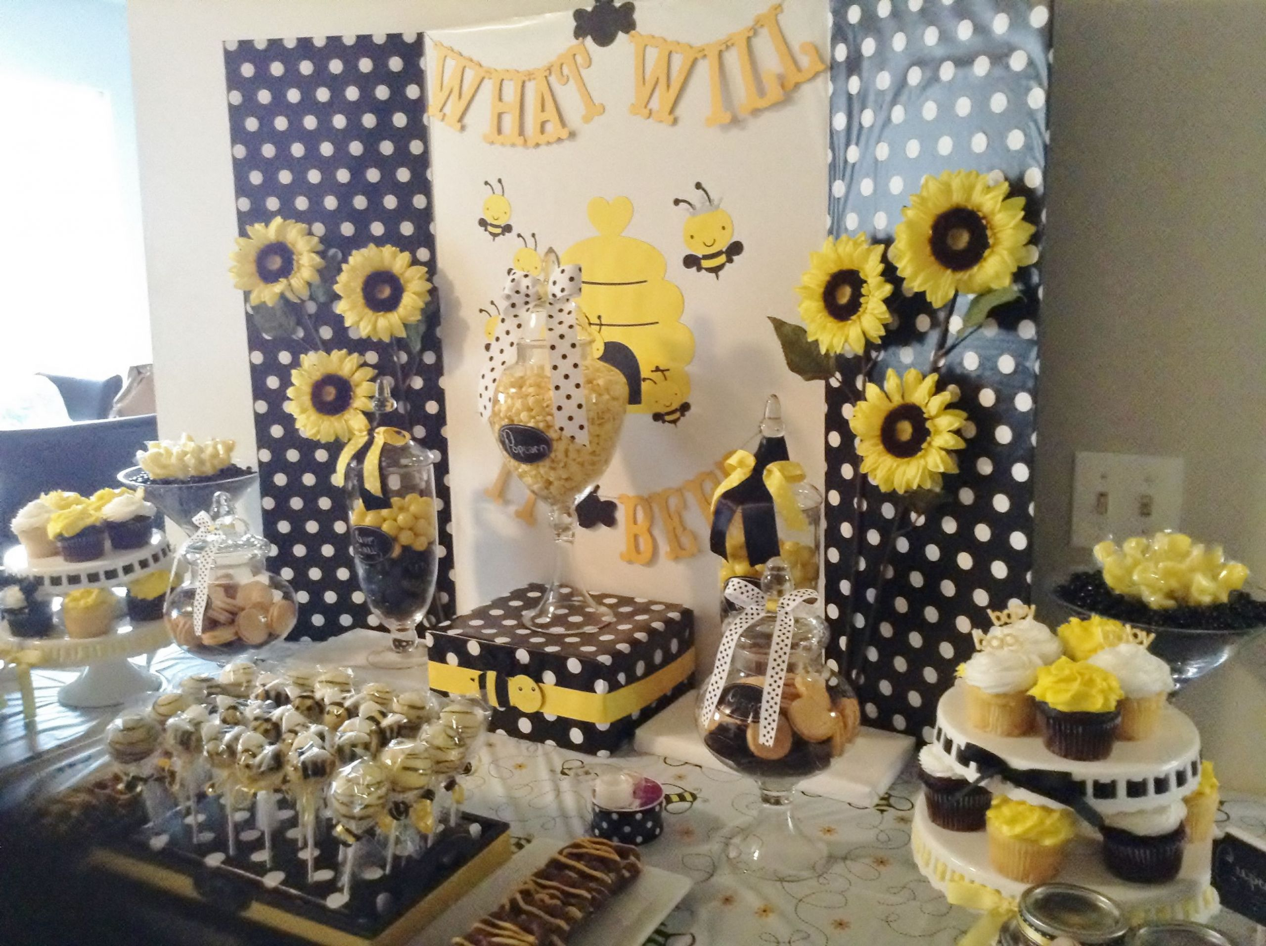 Bee Gender Reveal Party Ideas  What Will it Bee Gender Reveal Bee Party Bumble Bee