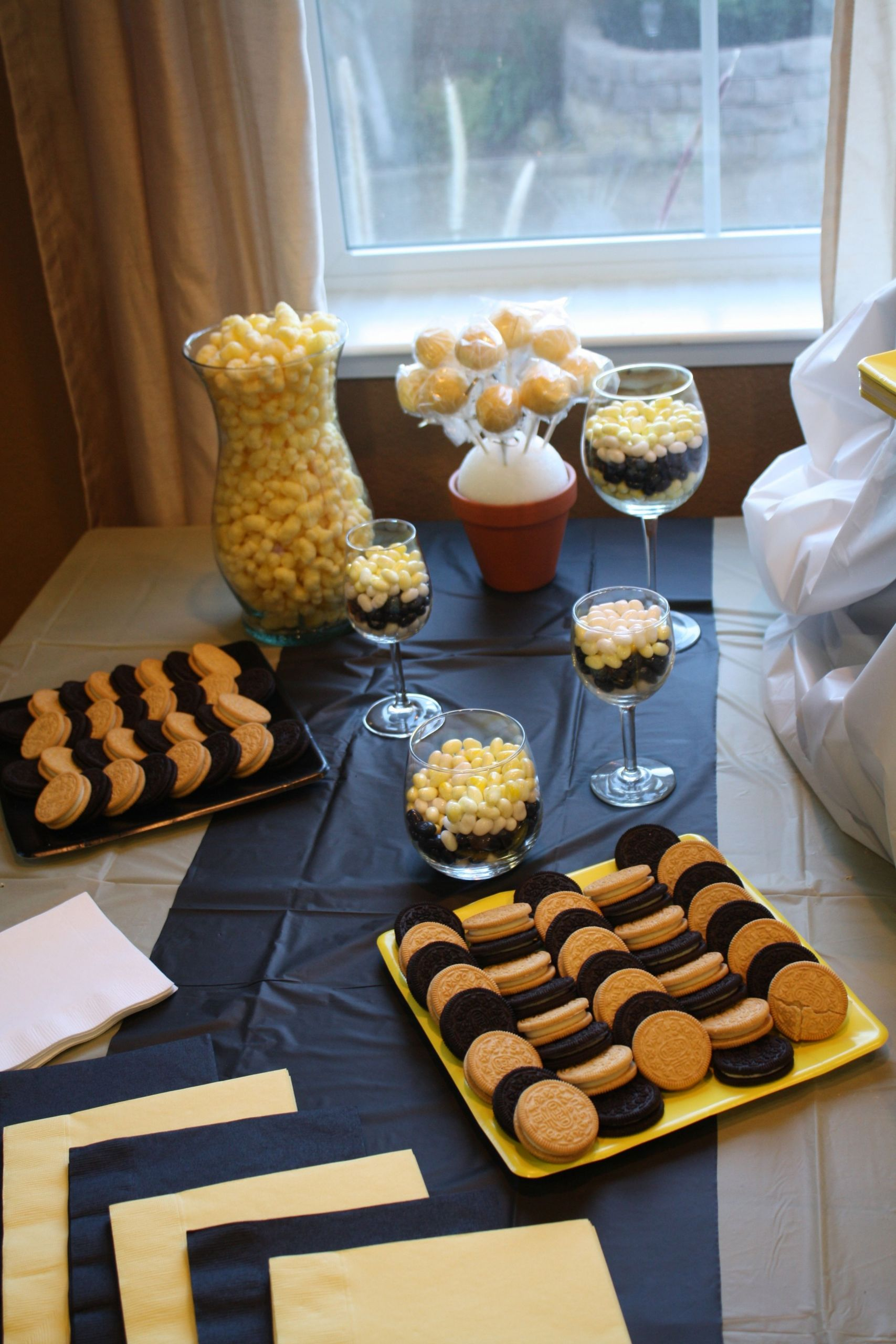"""Bee Gender Reveal Party Ideas  Guests will surely """"BUZZ"""" around this Bee themed gender"""