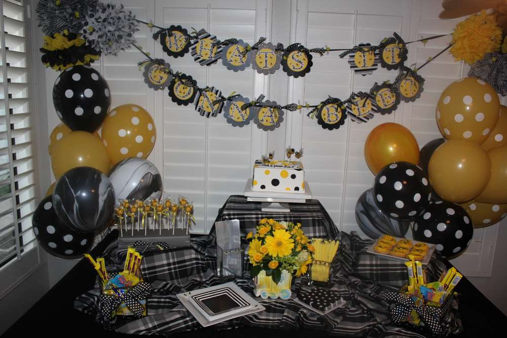 Bee Gender Reveal Party Ideas  Bumble Bees Gender Reveal Party Ideas
