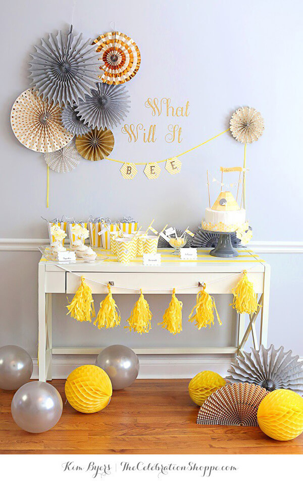 Bee Gender Reveal Party Ideas  What Will it Bee Gender Reveal Party Ideas Parties With
