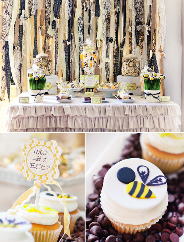 Bee Gender Reveal Party Ideas  Charming Honeybee Gender Reveal Party Hostess with the