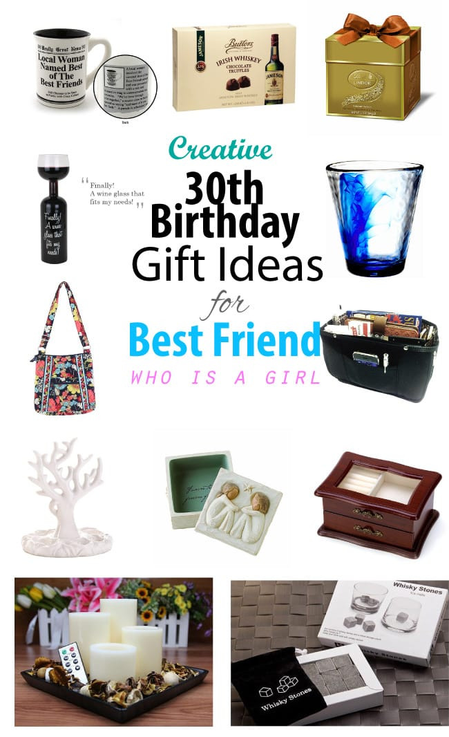 Best Birthday Gifts For Women  Creative 30th Birthday Gift Ideas for Female Best Friend