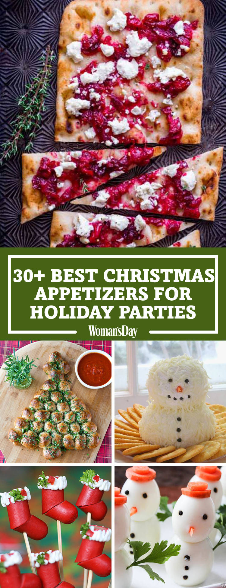 Best Christmas Party Appetizers  30 Easy Christmas Party Appetizers Best Recipes for