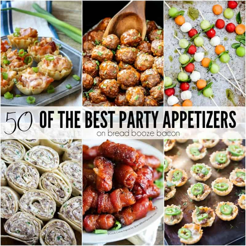 Best Christmas Party Appetizers  50 of the Best Party Appetizers Bread Booze Bacon