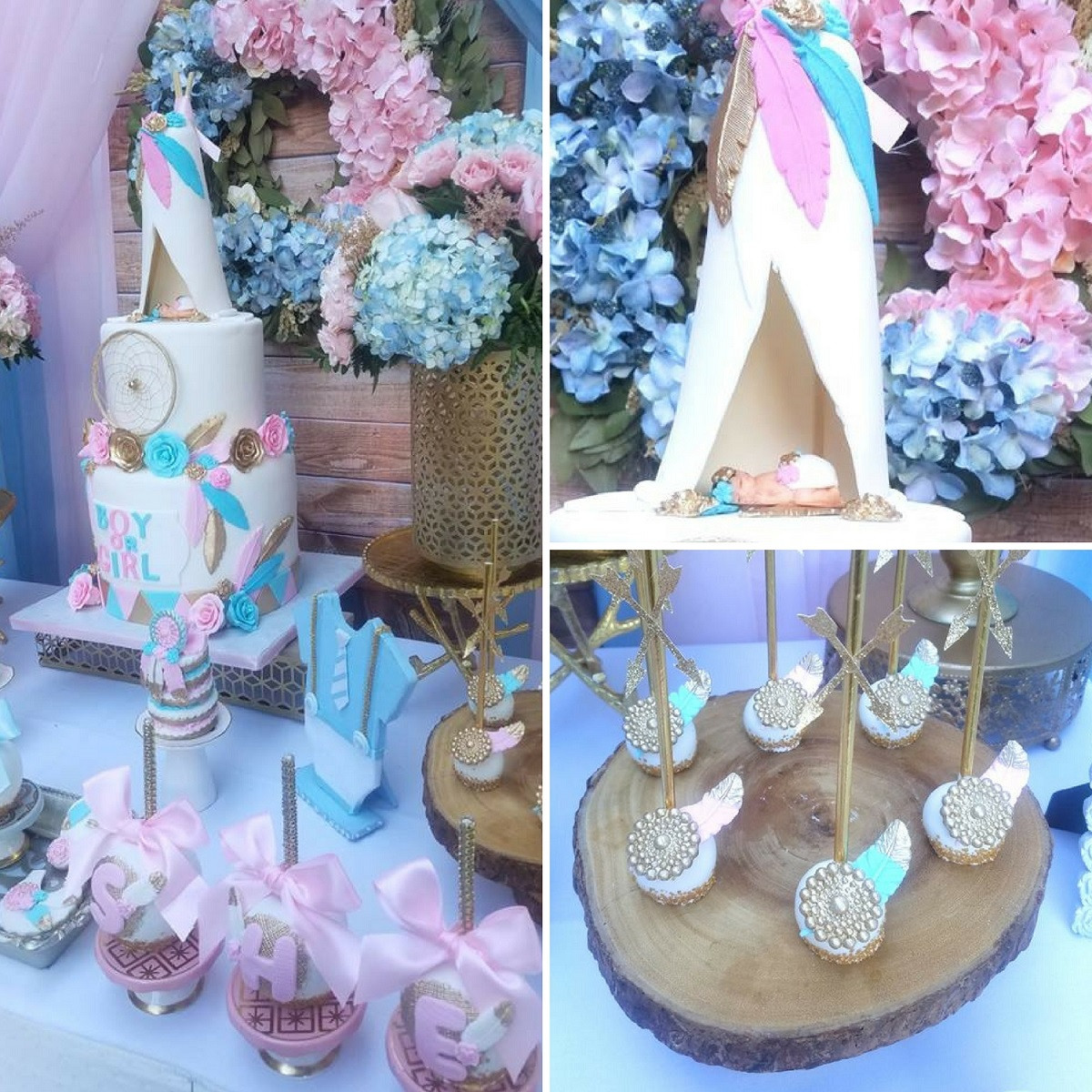 Best Gender Reveal Party Ideas  Boho Gender Reveal Party Baby Shower Ideas Themes Games