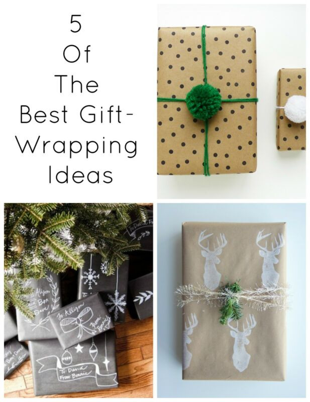 Best Gift Wrapping Ideas  5 The Best Gift Wrapping Ideas