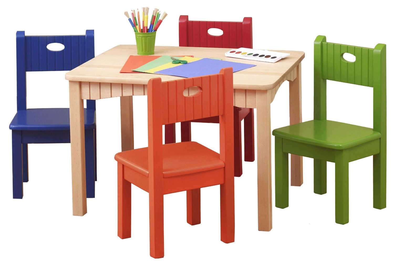 Best Kids Table  Wooden Table and Chairs for Kids – HomesFeed