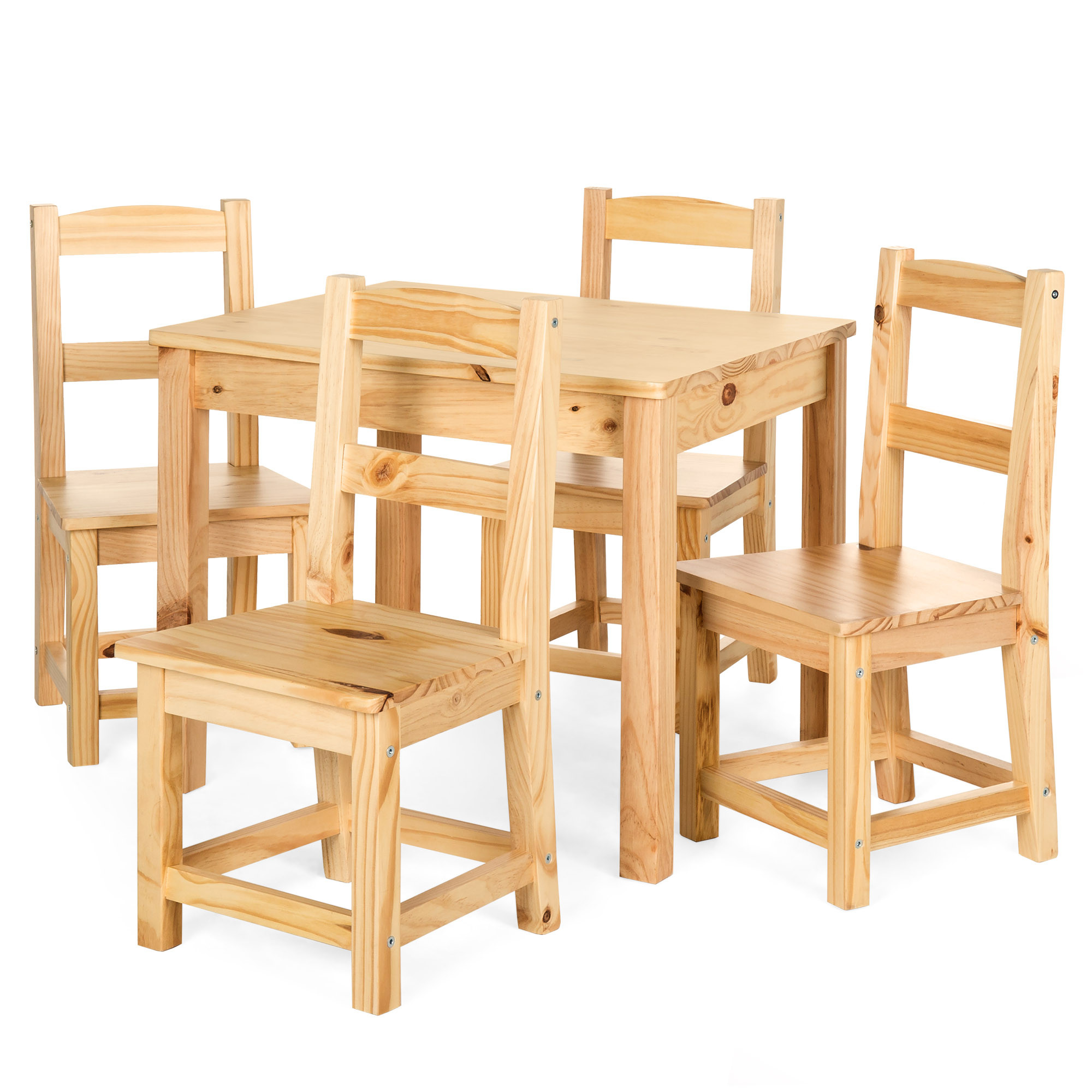 Best Kids Table  Best Choice Products 5 Piece Kids Multipurpose Wooden