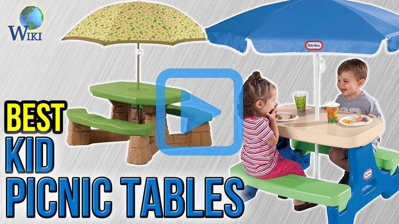 Best Kids Table  Top 8 Kid Picnic Tables of 2017