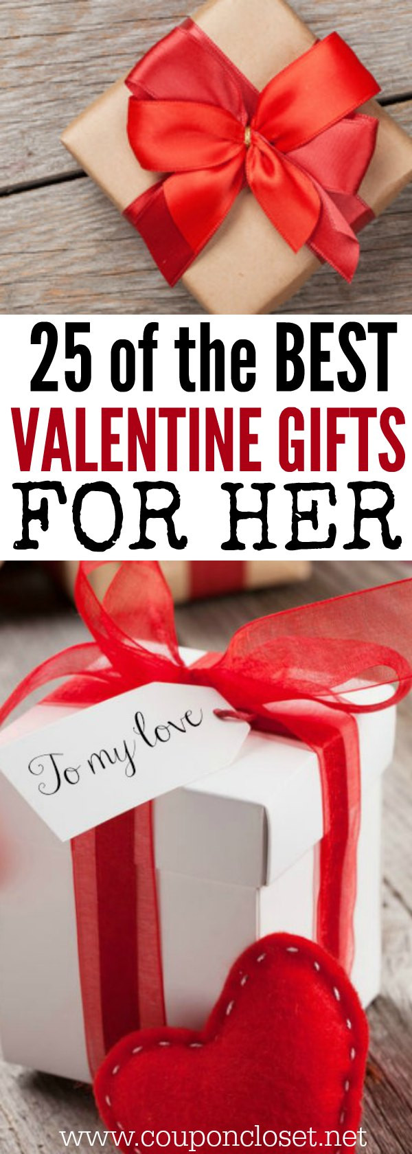 Best Valentines Gift Ideas  25 Valentine s Day ts for Her on a bud  Coupon Closet