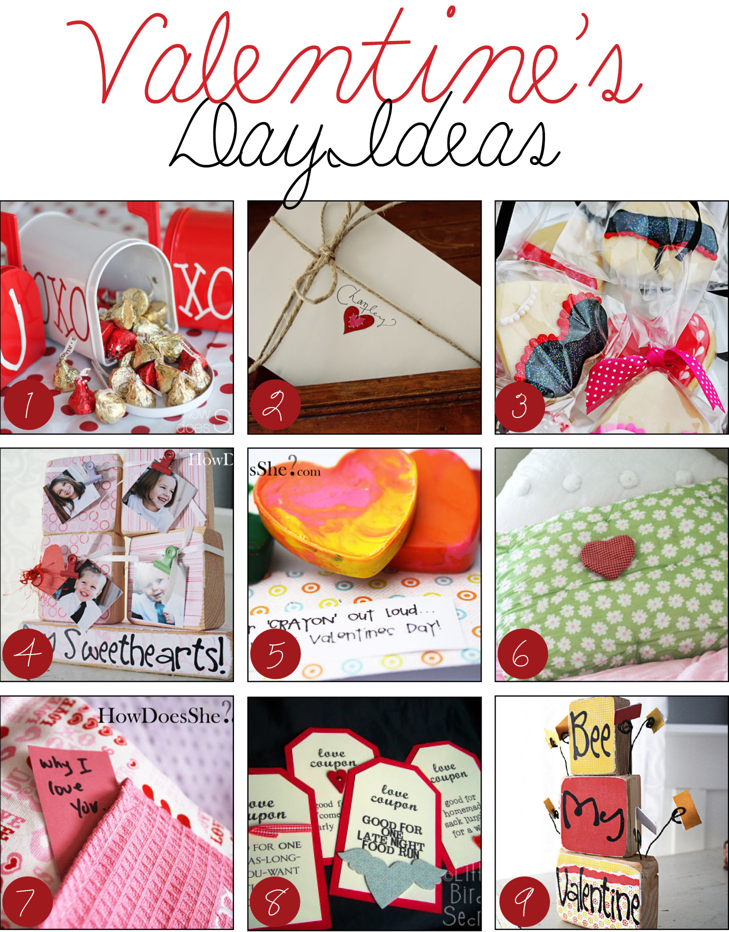 Best Valentines Gift Ideas  Over 50 'LOVE'ly Valentine's Day Ideas Dollar Store Crafts