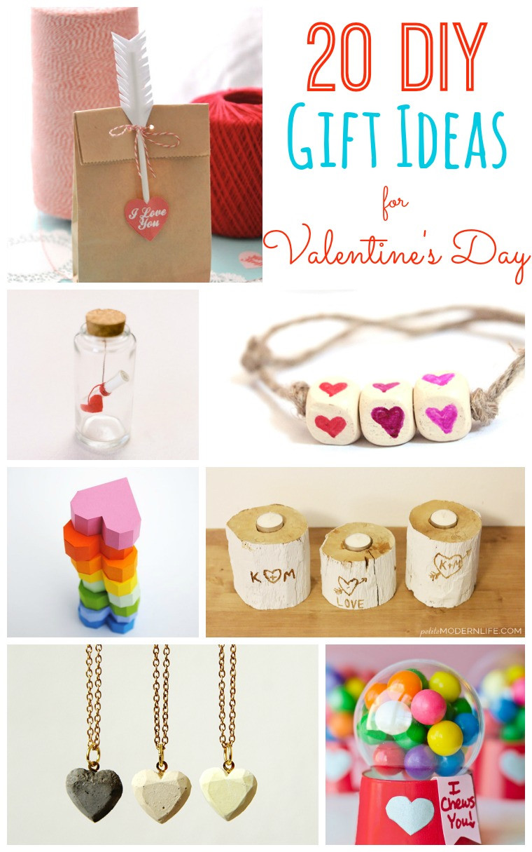 Best Valentines Gift Ideas  20 DIY Valentine s Day Gift Ideas Tatertots and Jello