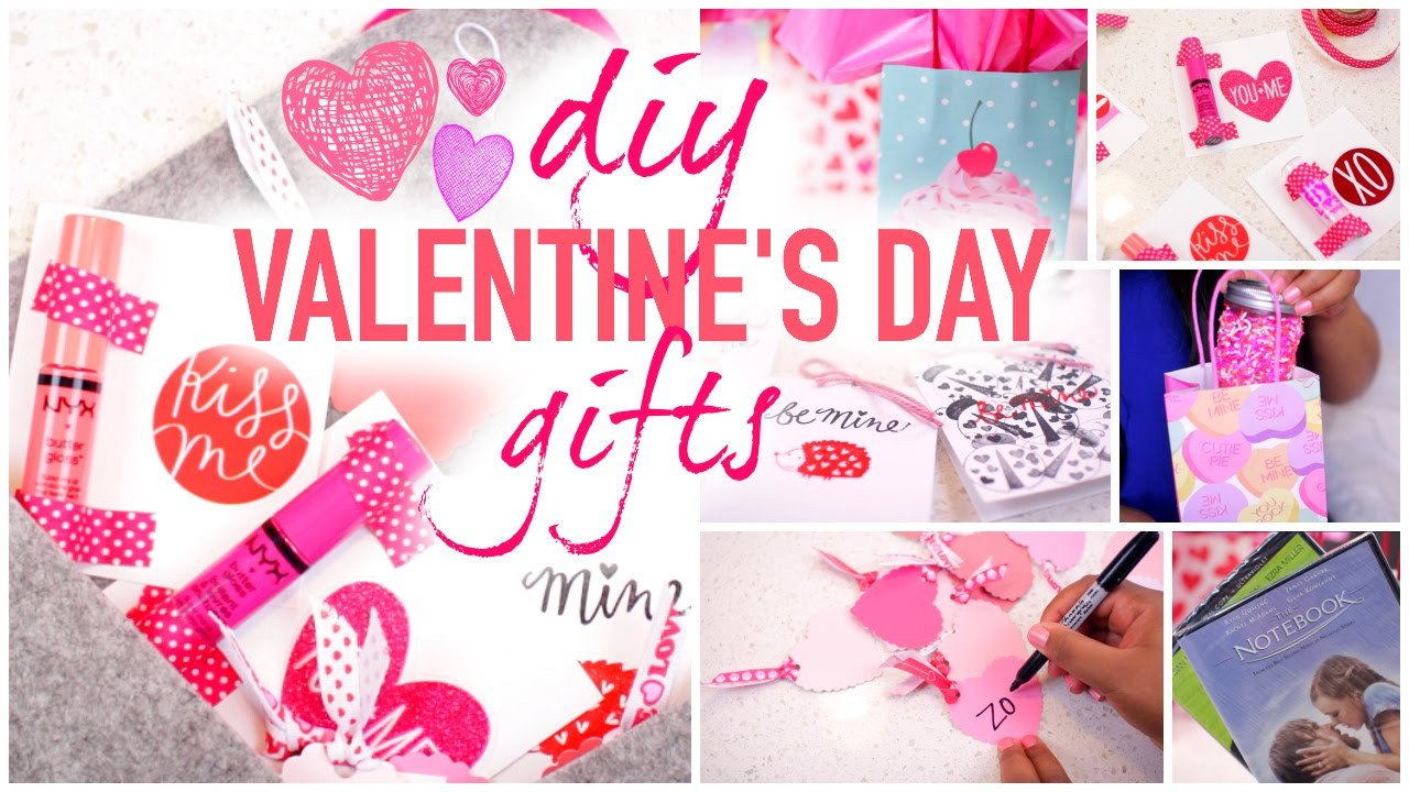 Best Valentines Gift Ideas  DIY Valentine s Day Gift Ideas Very Cheap Fast & Cute