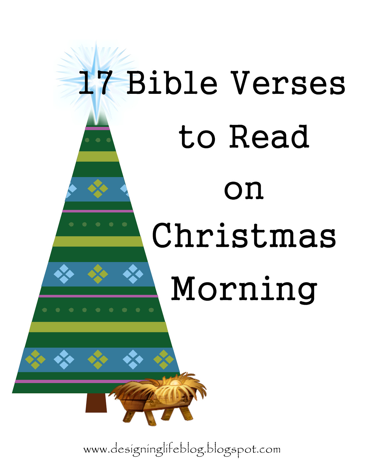 Bible Christmas Quotes  Designing Life 17 Bible Verses to Read on Christmas Morning