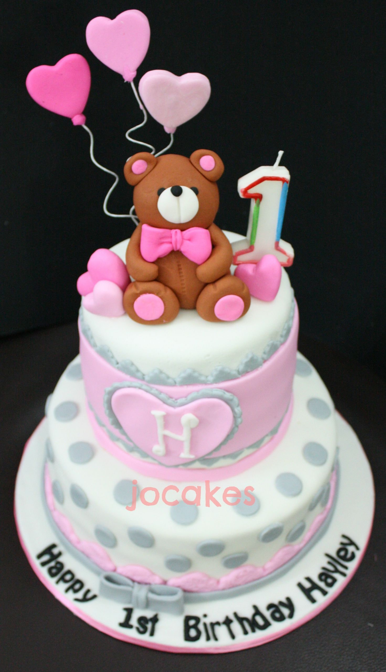 Birthday Cake For 1 Year Old  1 year old birthday cake