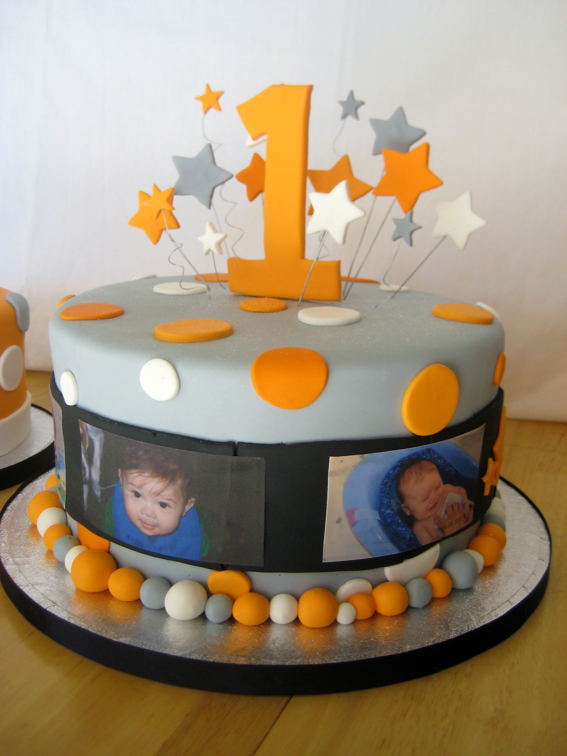 Birthday Cake For 1 Year Old  e Year Old in a FLASH cake – Stars Edible and