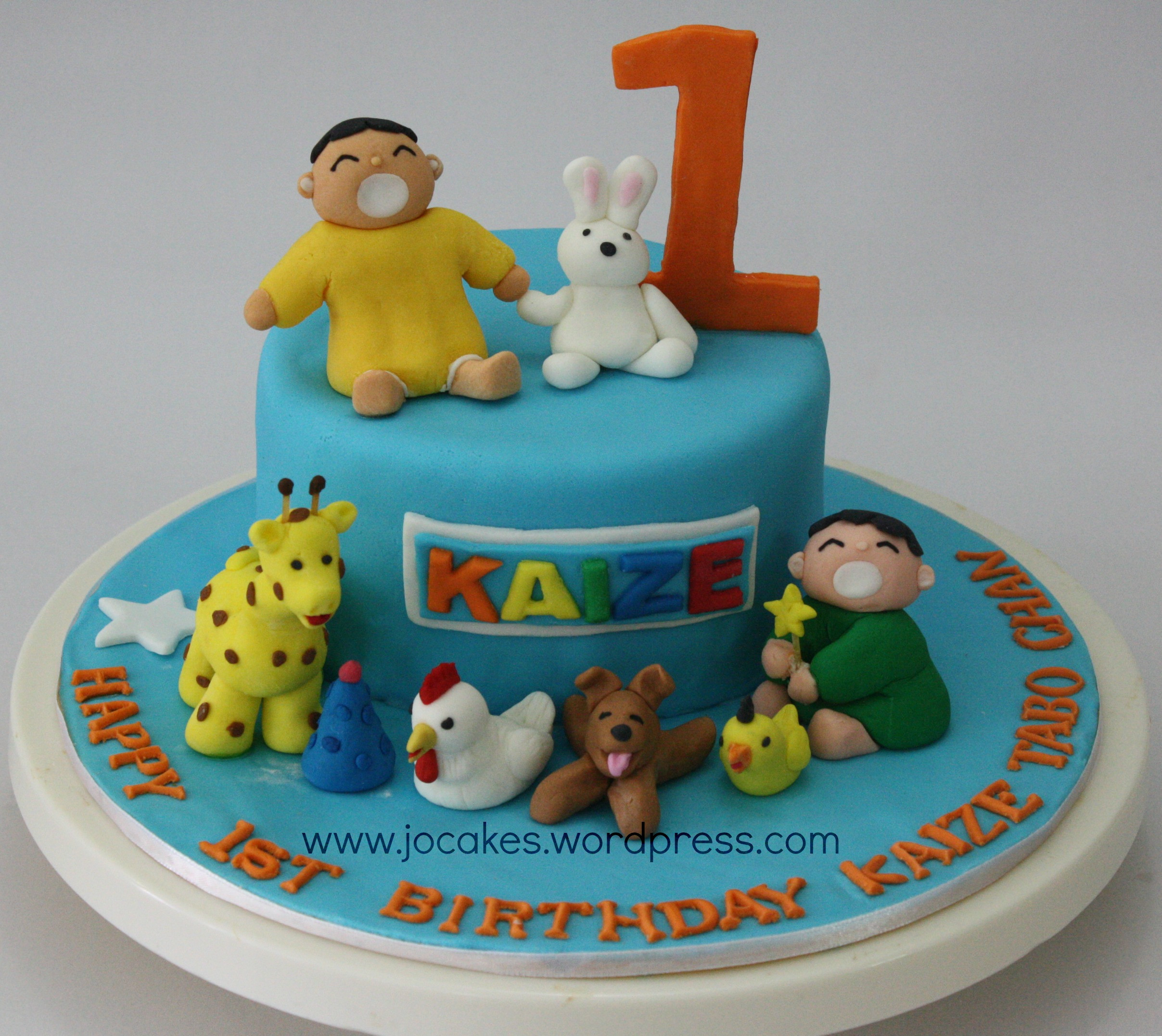 Birthday Cake For 1 Year Old  Minna Tabo cake for 1 year old boy